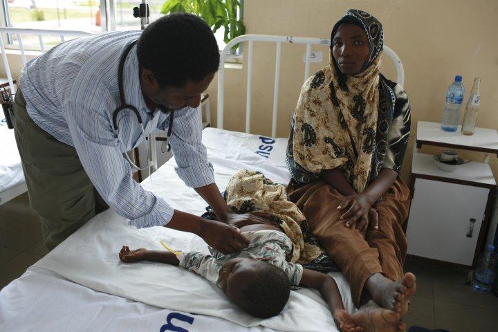 Salim Abdulla in ward