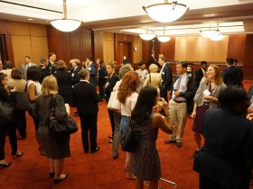 The Capitol Hill event was co-sponsored by PATH and several other members of the Malaria Roundtable.